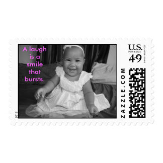 IMG_0869, A laugh is a smile that bursts. Stamps
