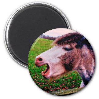 IMG_0897.JPG horse design by Jane Howarth Magnet