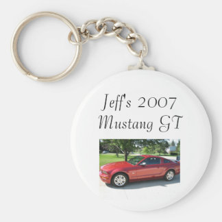 IMG_0997, Jeff's 2007 Mustang GT Basic Round Button Keychain