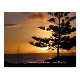 IMG_1013, Greetings from Two Rocks. - Customized Postcard