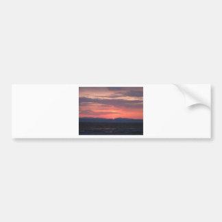 IMG_1034 Alaska Sunset Bumper Sticker
