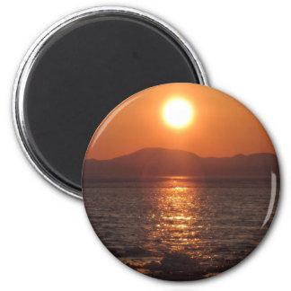 IMG_1069 puesta del sol de Alaska Kotz Iman Para Frigorífico