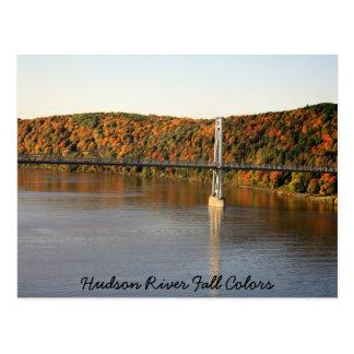 IMG_1493, colores de la caída del río Hudson Postal