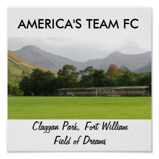 IMG_1719, AMERICA'S TEAM FC, Claggan Park, Fort... Print