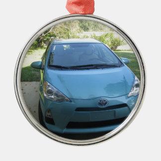 IMG_2140.JPG Prius Toyota car Metal Ornament