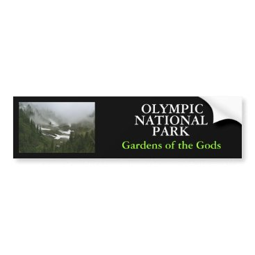 Christmas Themed IMG_2155, OLYMPIC , NATIONAL, PARK, Gardens of ... Bumper Sticker