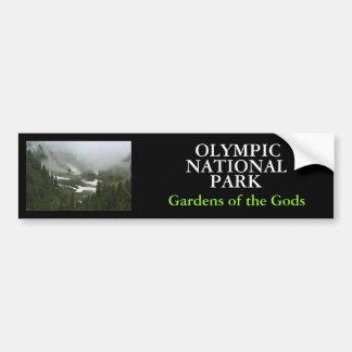 IMG_2155, OLYMPIC , NATIONAL, PARK, Gardens of ... Car Bumper Sticker
