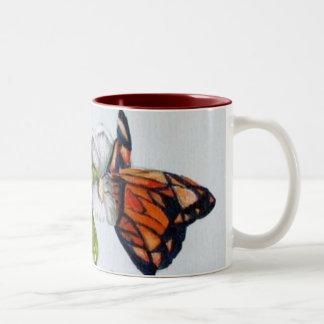 IMG_2204butterflies Two-Tone Coffee Mug