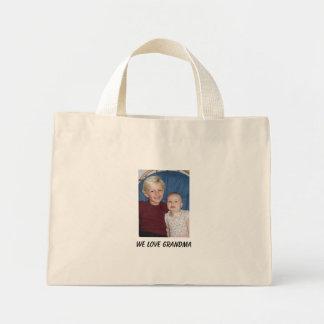 IMG_2206, We Love Grandma Mini Tote Bag