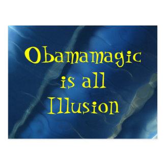 IMG_2352, allIllusion de Obamamagicis Tarjeta Postal