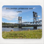IMG_2426, Stillwater liftbridge and lawn, photo... Mousepads