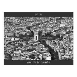 IMG_2588_2, arc de triomphe, paris Postcard