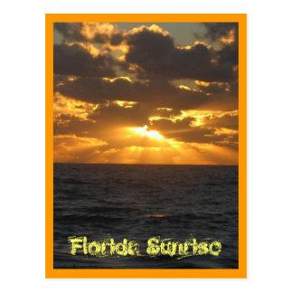IMG_2860, Florida Sunrise Postcard