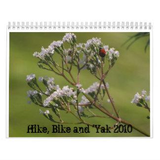 IMG_2871, IMG_3537, IMG_3042, Hike, Bike and 'Y... Calendar
