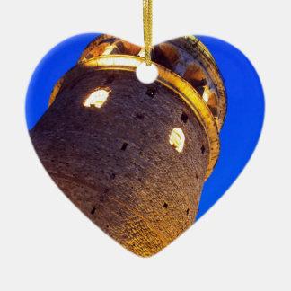 IMG_2876 copy.jpg Double-Sided Heart Ceramic Christmas Ornament