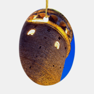 IMG_2876 copy.jpg Double-Sided Oval Ceramic Christmas Ornament