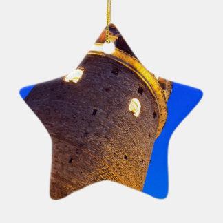 IMG_2876 copy.jpg Double-Sided Star Ceramic Christmas Ornament