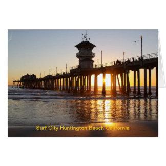IMG_3053, Surf City Huntington Beach California Card