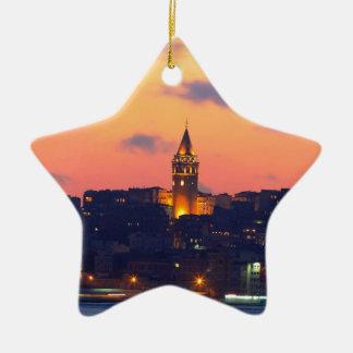 IMG_3404 copy.jpg Double-Sided Star Ceramic Christmas Ornament