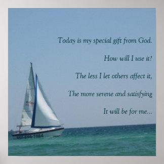 IMG_3862, es hoy mi regalo especial de dios Póster