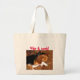 IMG_4519, Hide & seek! Tote Bags
