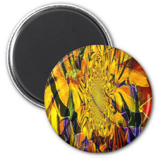 IMG_6429-4 abstract art Refrigerator Magnets