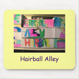 IMG_6975, Hairball Alley Mouse Pad