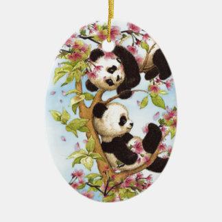 Panda Ornaments & Keepsake Ornaments | Zazzle