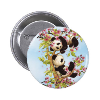 IMG_7386.PNG  cute and colorful panda designed Pinback Button