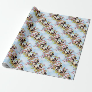 IMG_7386.PNG  cute and colorful panda designed Wrapping Paper