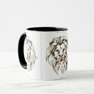 IMG_7779.PNG brave lion design Mug