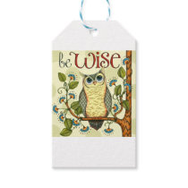 IMG_7786.PNG wise owl customizable design Gift Tags