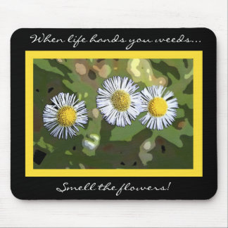 IMG_8760 daisy mousepad, When life hands you we... Mouse Pad