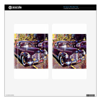 IMG_9831 classic American automobile Skin For Kindle Fire