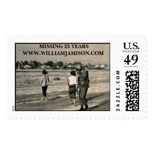 img_runway[1], MISSING 25 YEARSWWW.WILLIAMJAMIS... Postage Stamps