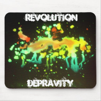 IMGP1815, Revolution, Depravity Mouse Pad