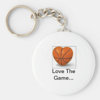 imgres, Love The Game... Basic Round Button Keychain