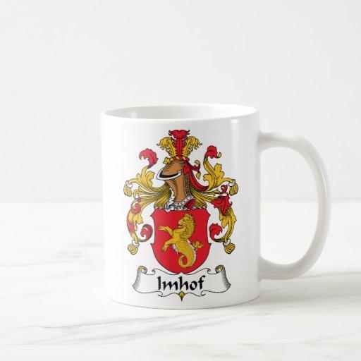 Imhof Family Crest Coffee Mug