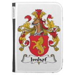 Imhof Family Crest Kindle Folio Cases