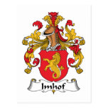 Imhof Family Crest Postcards