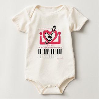 IMI Logo baby clothes Baby Creeper