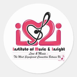 IMI-logo stickers