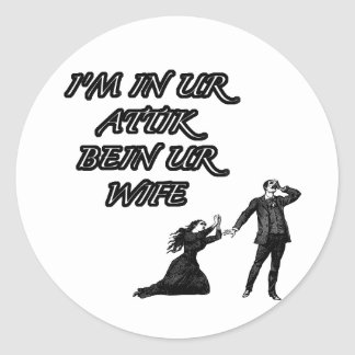 Iminurattik Round Sticker