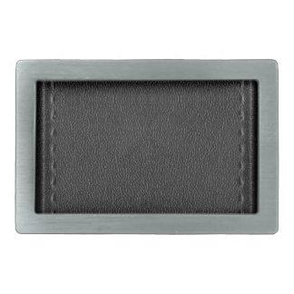 Imitación de cuero del vintage hebillas cinturón rectangulares