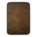 Imitación de cuero funda para macbook air