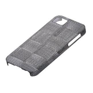 Imitat-schwarze Nylonwebart iPhone 5 Carcasas