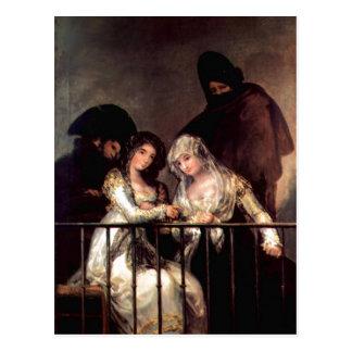 Imitator of Goya y Lucientes, Francisco de , possi Postcard