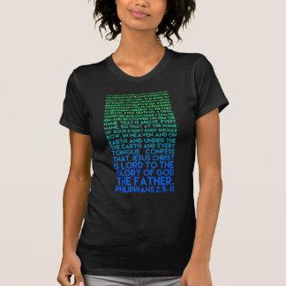 Imite el 2:5 de los filipenses de la humildad de t-shirts