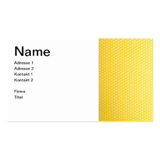 Imker con panal - tarjeta de presentación tarjeta de negocio