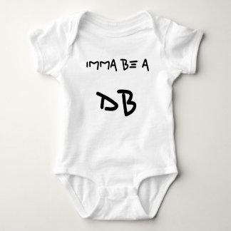 IMMA BE A, DB BABY BODYSUIT